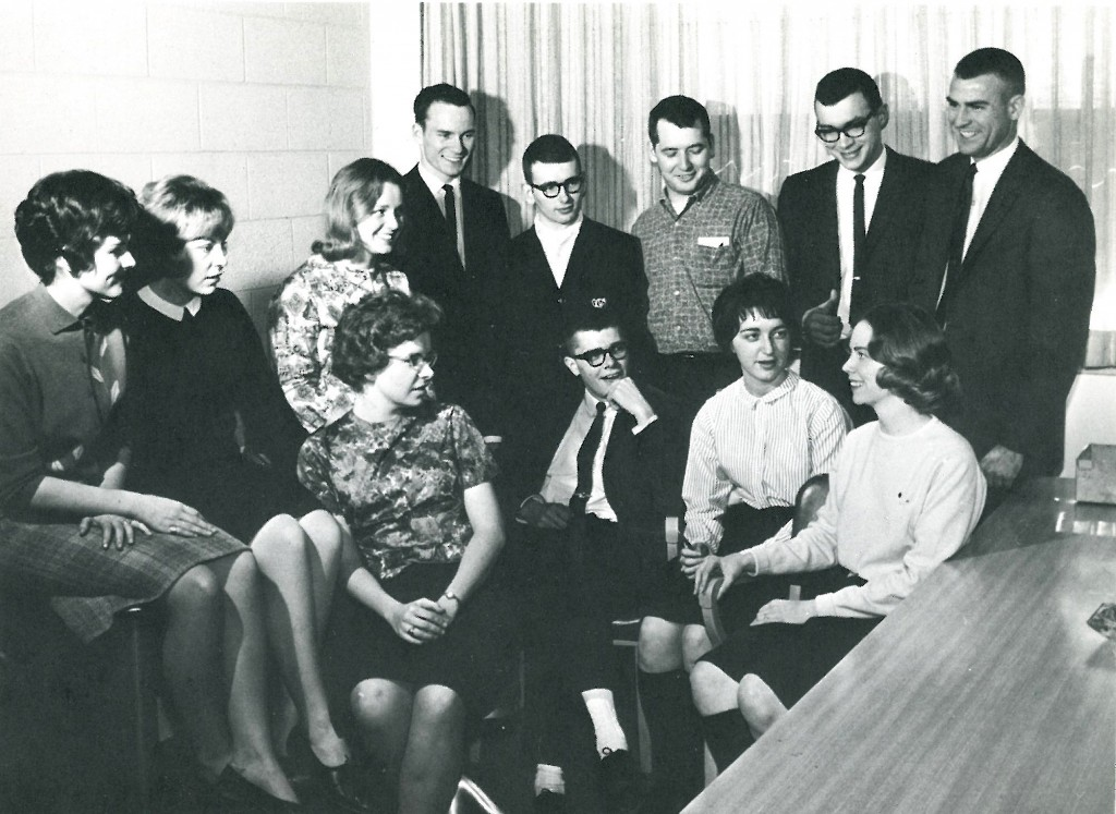 StudentGovernmentCouncil1964