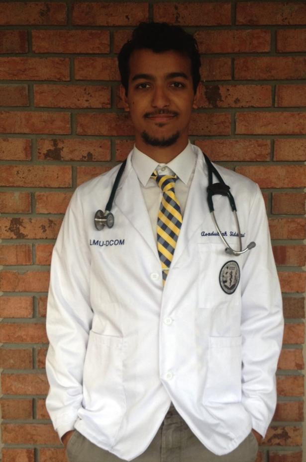 Asadullah Siddiqui, B.S. Biology, 2014