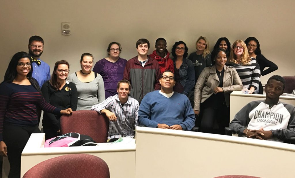 UM-Flint Communication 226 students in Fall 2016