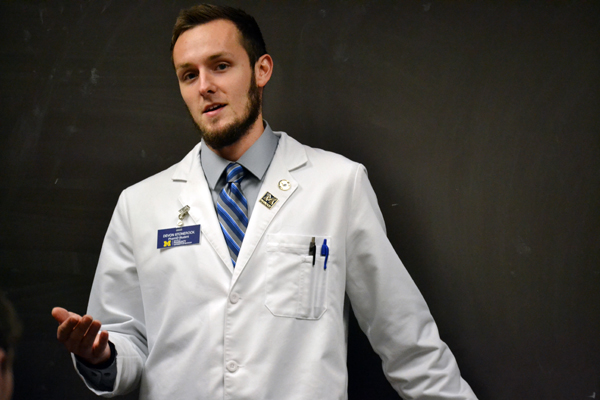 Devon Stonerock, a first year pharmacy student, discusses his experiences in applying for pharmacy school and the workload of his first semester