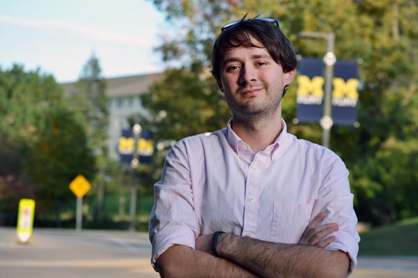 Brandon Taylor, 2017 UM-Flint Psychology alumnus