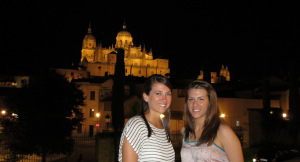 Elizabeth LeBlanc and Elizabeth Houbeck, Spain
