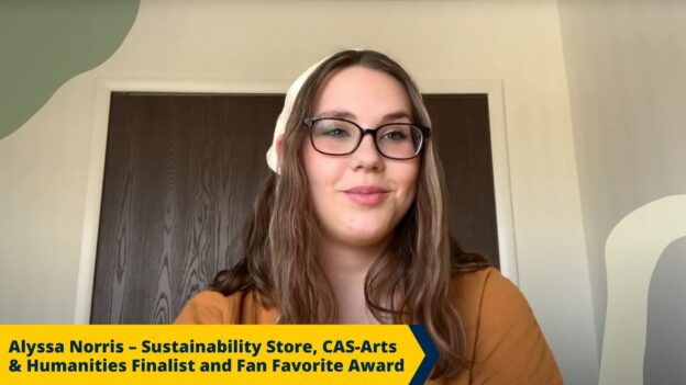 Screenshot of CAS Student: Alyssa Norris Video Submission