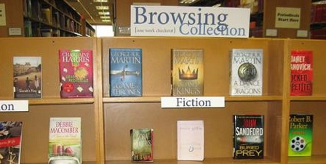 """NEW!     Thompson Library """"BROWSING COLLECTION""""  Opens!"""