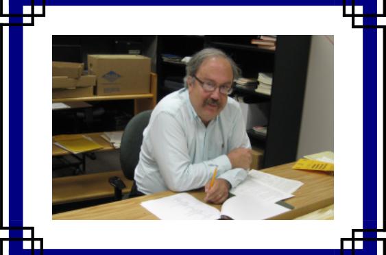 LIBRARY PROFILE – Paul Gifford, Archivist