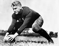 Gerald Ford UM Football Player