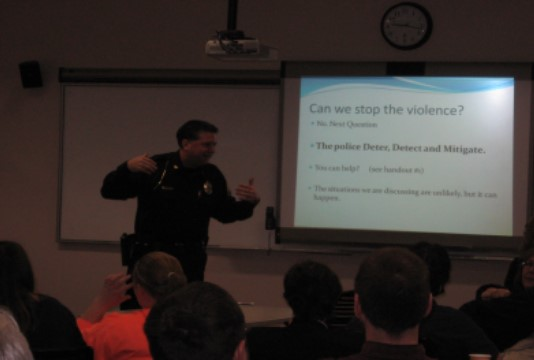 Secure-In-Place (Shooter-on-Campus) Exercise Held  in Library