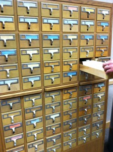 Card Catalog Open