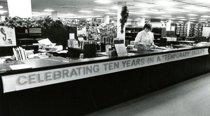 The UM-Flint Library Looks Back through Time