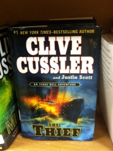 Book -- Cussler -- The Thief