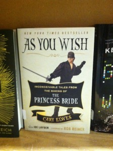 Book -- Elwes -- As You Wish