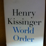 Book -- Henry Kissinger -- World Order