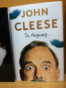 Book -- John Cleese -- So Anyway