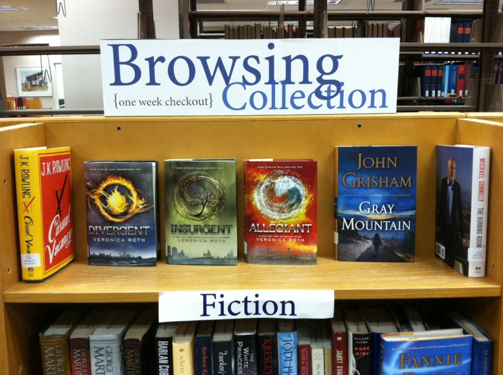 Browsing Collection Fiction 2