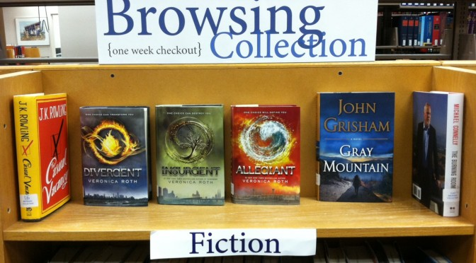 Best -Seller  Books  Available  in  Library Browsing  Collection