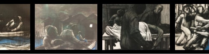 Mott-Warsh Art Display; New Pieces on View in Library