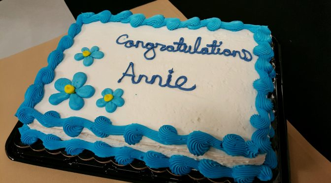 Annie Szuch Retires after 40 Years of Library Service