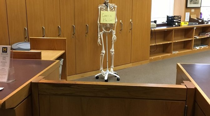 No Bones about It — Willson Has Joined the Library!