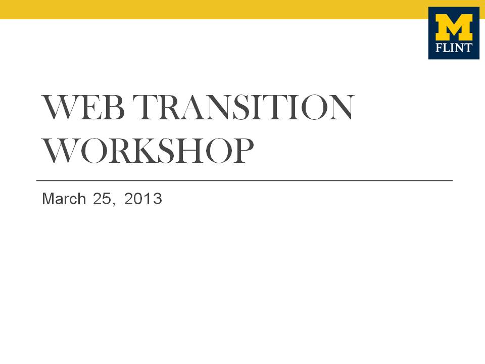 Transition-Workshop-Presentation