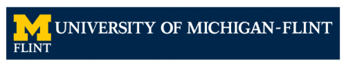 Official UM-Flint Wordmark