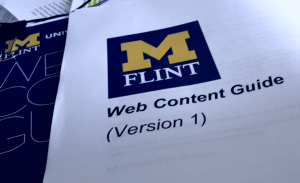 UM-Flint Web Content Guide (Version 1)