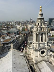View from Stone Gallery at St. Paul's Cathedral